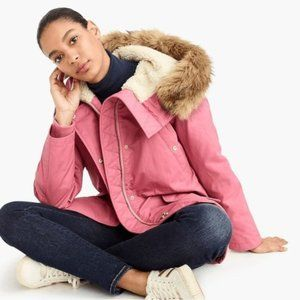J.Crew Perfect Parka with Eco-friendly PrimaLoft®